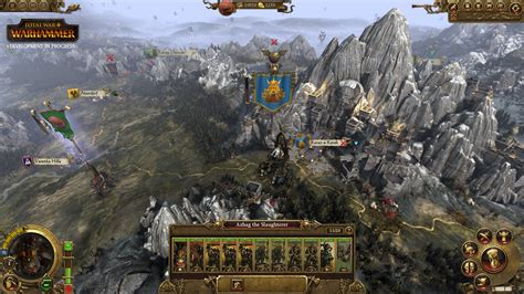 Total War: Warhammer's campaign map focuses on faction