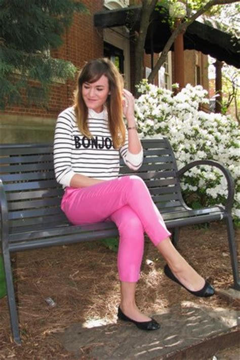 White Asos Sweaters, Hot Pink Forever 21 Pants, Black Wals