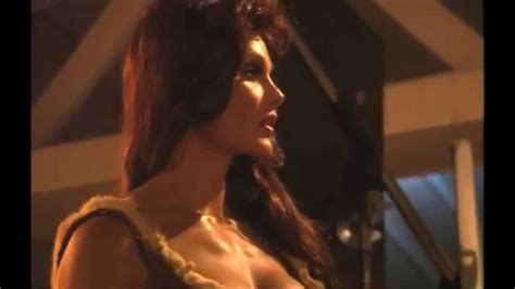 """CORY EVERSON as Raquel Welch """"one million years BC"""" - YouTube"""