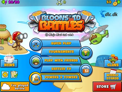 Download Bloons TD Battles for free
