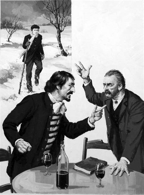 Van Gogh and Gauguin Argue by Jack Keay at the