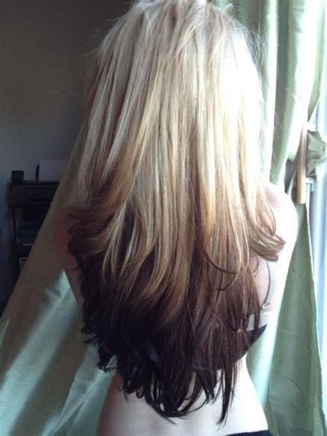 Blonde To Dark Brown Ombre Pictures, Photos, and Images