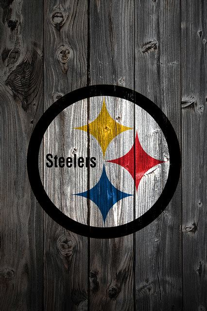 Pittsburgh Steelers Wood iPhone 4 Background | Flickr