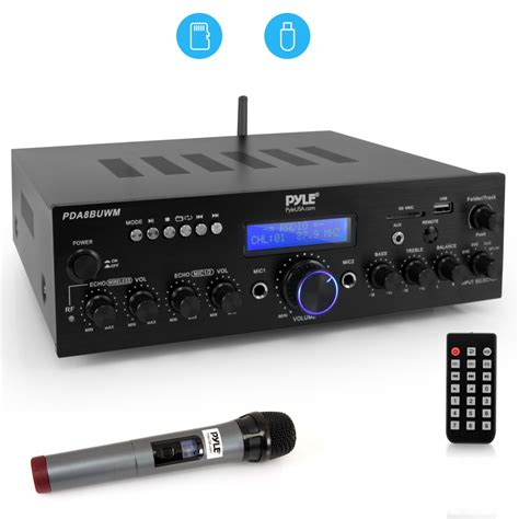 Pyle - PDA8BUWM - Home and Office - Amplifiers - Receivers