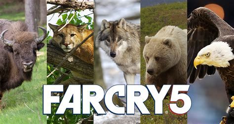 Far Cry 5 wildlife: What animals from the wilds of Montana