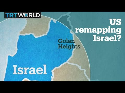 Israel West Bank Gaza Strip And Golan Heights • Mapsof