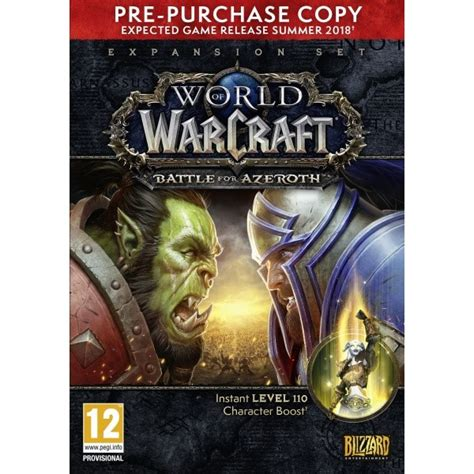Hra Blizzard PC World of Warcraft Battle for Azeroth PPO