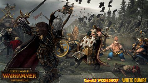 Legendary White Dwarf is Coming to Total War: Warhammer as