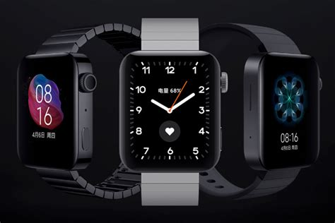 How much of an Apple Watch ripoff is the Xiaomi Mi Watch