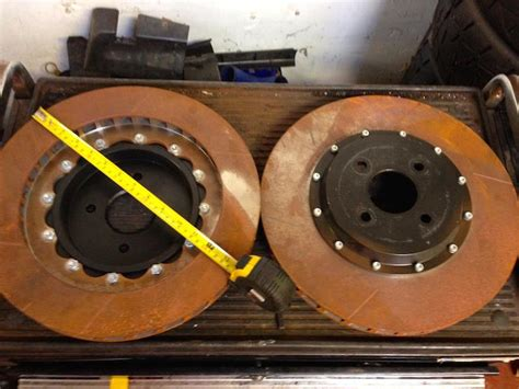 SIERRA COSWORTH 2WD 350mm COMPBRAKE KIT - PassionFord
