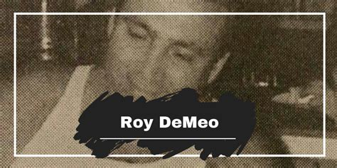 How Did Roy DeMeo Get Killed? – Death Photos   The NCS