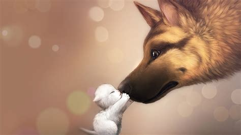 3D Dog Wallpaper | HD Animals and Birds Wallpapers for