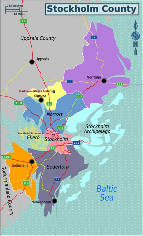 Stockholm County – Travel guide at Wikivoyage