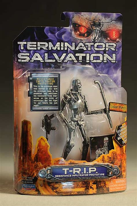 Review and photos of Terminator Salvation T-700, T-600, T