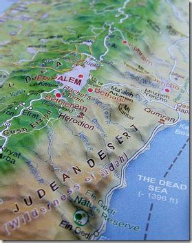 BiblePlaces Blog: New Resource: Israel Topographical