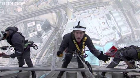 An Incredible First-Person View of Cleaning the Windows of