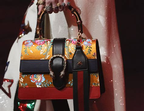 Gucci's Spring 2017 Runway Bags are Just as Sumptuous and