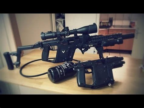 [57]Airsoft - Review - HPA on KRISS Vector - YouTube