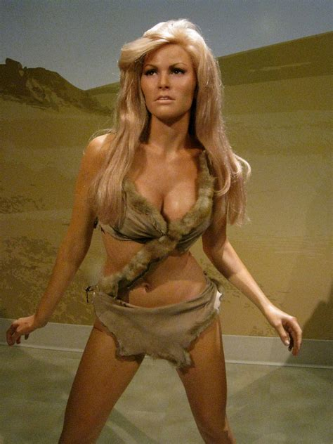 """Raquel Welch in """"10,000 Years BC""""   Took these pictures at"""