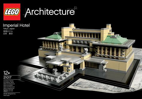 First pictures of LEGO Architecture 21017 Imperial Hotel