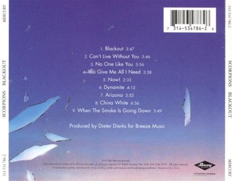 Blackout - Scorpions   Songs, Reviews, Credits   AllMusic