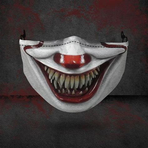 FREE SHIPPING - Pennywise Halloween 3D Face mask, Horror