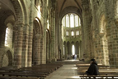Inside Mont St Michel - my recent visit to the abbey