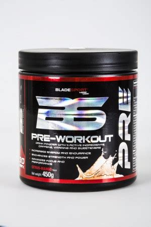 BLADESPORT PRE-WORKOUT PRO SERIES 31€ :: Natural Perfect Body