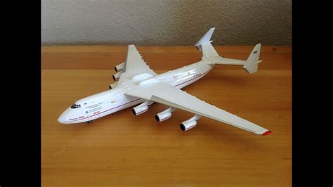 Herpa 1/400 Antonov Airlines AN-225 Unboxing - YouTube