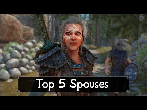 Skyrim: How to change your wife's clothes or armor - YouTube