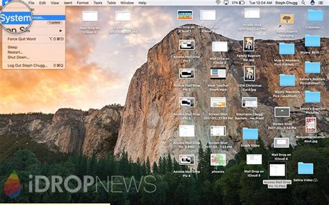 How to Access Mail Drop on Mac - Complete Tutorial with Images
