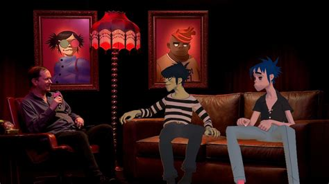 NME's first live interview with Gorillaz - YouTube
