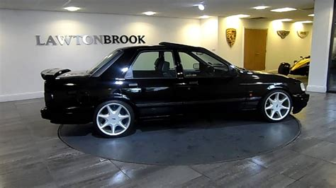 Ford Sierra Cosworth 4x4 black with Black Leather - Lawton