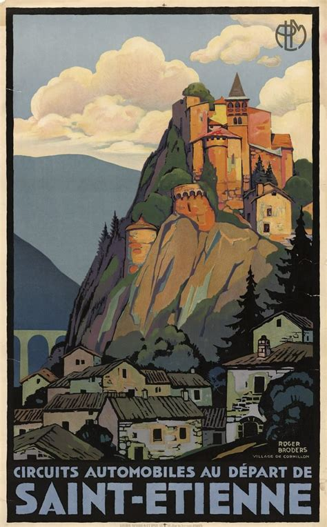15 Beautiful French Art-Deco Travel Posters by Roger